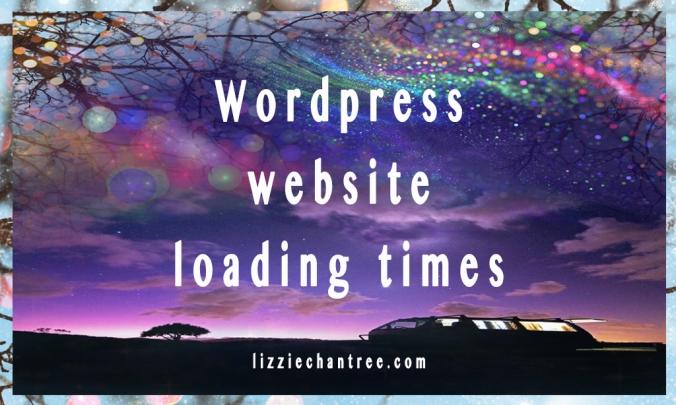 Lizzie Chantree blog. WordPress